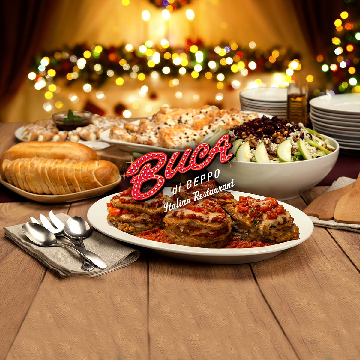 Enter to win holiday catering, special offers and more!