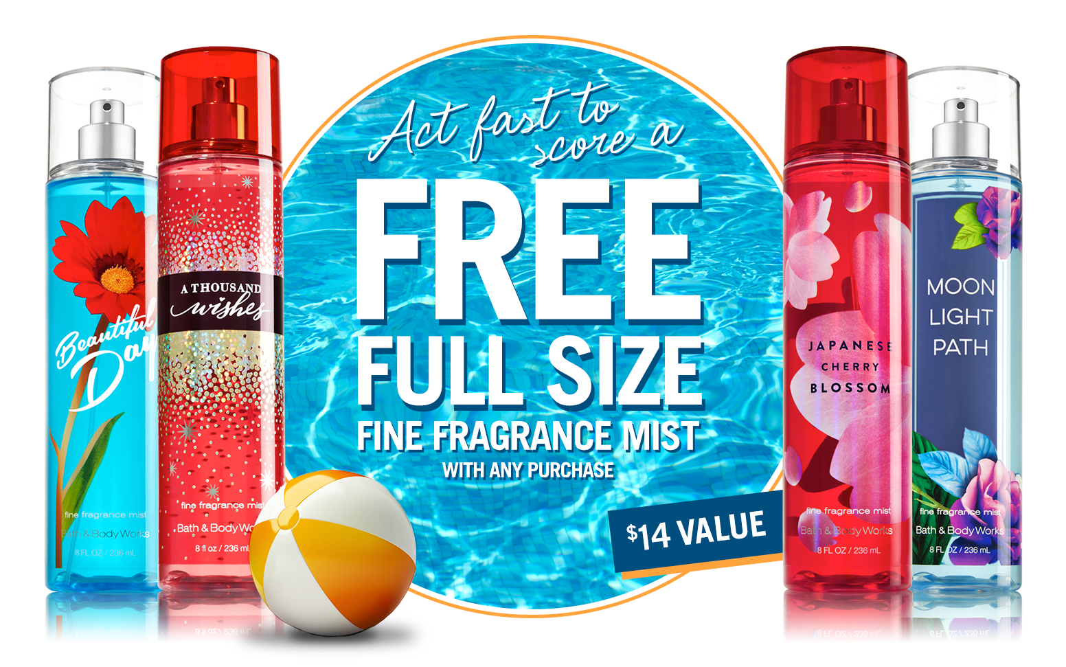 FREE Fragrance Mist ($14 value...