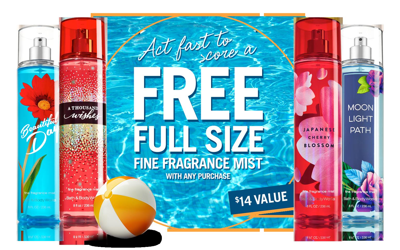 FREE Fragrance Mist ($14 value...
